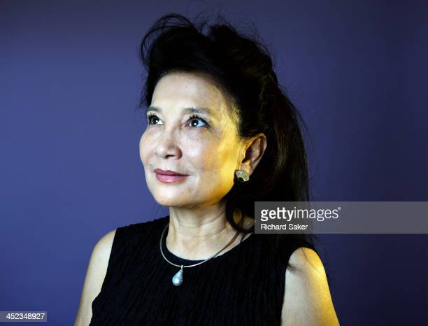 Writer Jung Chang is photographed for the Observer on September 10 2013 in London England
