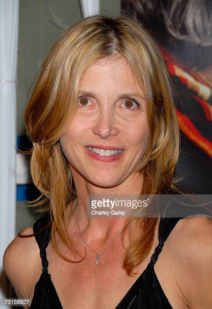 Writer Karen Leigh Hopkins arrives at the world premiere of Because I Said So at ArcLight Hollywood on January 30 2007 in Hollywood California