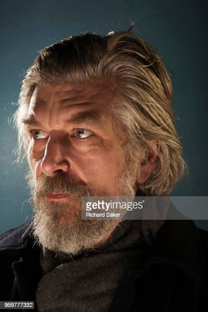 Writer Karl Ove Knausgaard is photographed for the Observer on January 24 2018 in London England