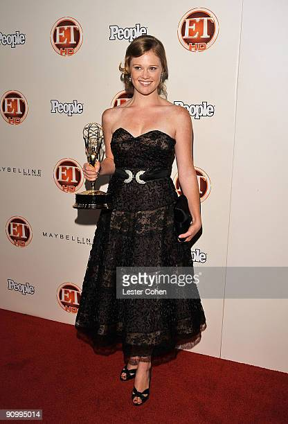 Writer Kater Gordon arrives at the 13th Annual Entertainment Tonight and People Magazine Emmys After Party at the Vibiana on September 20 2009 in Los...
