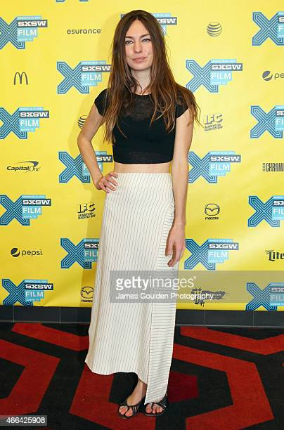 Writer Katharine O'Brien attends the premiere of The Automatic Hate during the 2015 SXSW Music Film Interactive Festival at Alamo Lamar A on March 15...