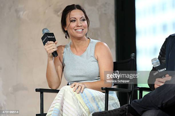 Writer Kay Cannon visits AOL Build at AOL Studios In New York on May 13 2015 in New York City