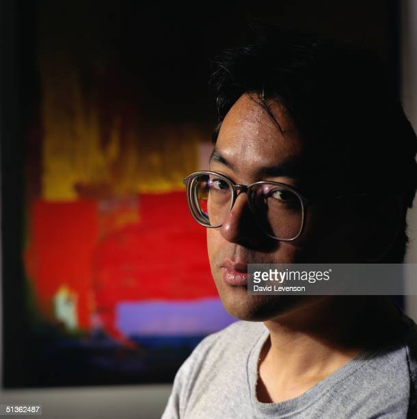 Writer Kazuo Ishiguro at home in London on September 8 1995 Ishiguro's novels include 'A Pale View Of Hills' 'An Artist Of The Floating World' for...