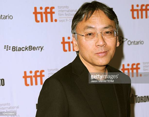 Writer Kazuo Ishiguro attends the 'Never Let Me Go' Premiere held at the Ryerson Theatre during the 35th Toronto International Film Festival on...