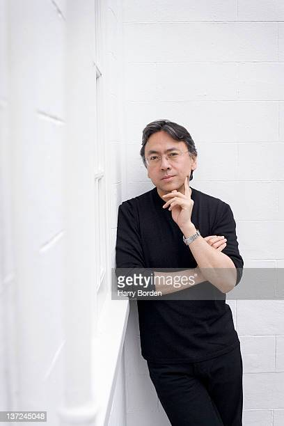 Writer Kazuo Ishiguro is photographed for Stern on July 5 2005 in London England