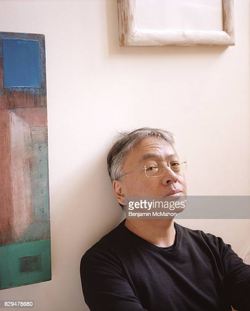 Writer Kazuo Ishiguro is photographed for the Telegraph on February 6 2015 in London England
