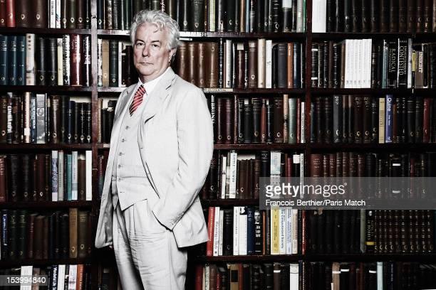 Writer Ken Follett is photographed for Paris Match on September 12 2012 in London England