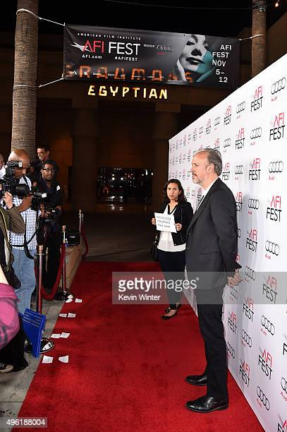 Writer Kent Jones attends the Centerpiece Gala Premiere of Dog Eat Dog Films' 'Where to Invade Next' during AFI FEST 2015 presented by Audi at the...