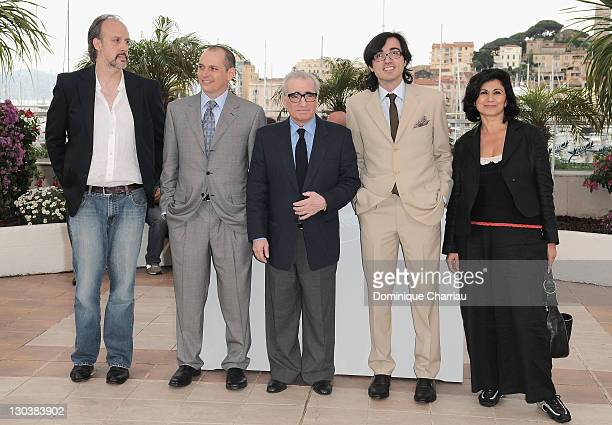 Writer Kent Jones BSide Entertainment founder Chris Hyams director Martin Scorsese CEO of The Auteurs Ete Cakarel and producer Hengameh Panahi attend...