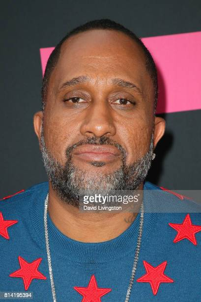 Writer Kenya Barris attends the premiere of Universal Pictures' Girls Trip at Regal LA Live Stadium 14 on July 13 2017 in Los Angeles California