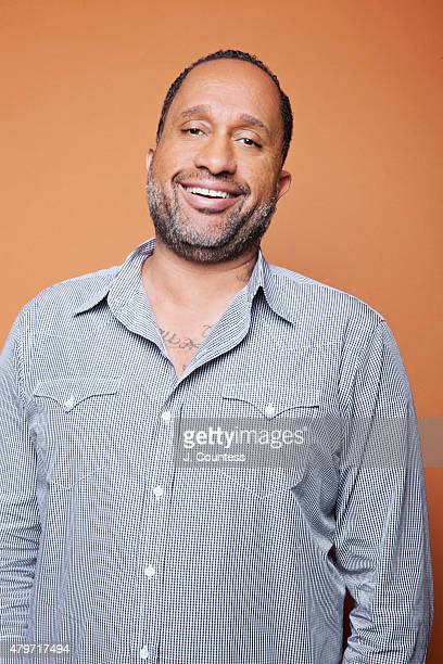 Writer Kenya Barris poses for a portrait at the American Black Film Festival on June 14 2015 in New York City