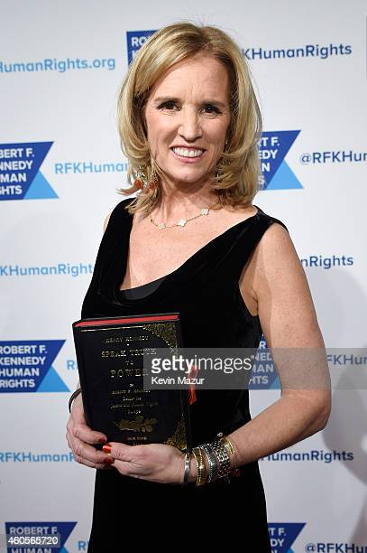 Writer Kerry Kennedy attends the RFK Ripple Of Hope Gala at Hilton Hotel Midtown on December 16 2014 in New York City