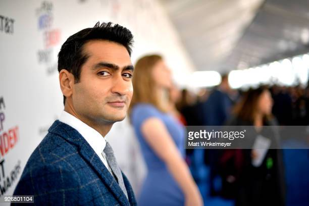 Writer Kumail Nanjiani attends the 2018 Film Independent Spirit Awards on March 3, 2018 in Santa Monica, California.