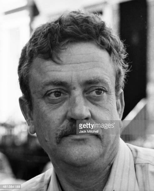 Writer Kurt Vonnegut photographed in 1970.