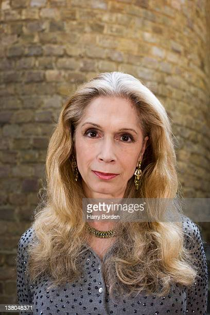 Writer Lady Colin Campbell is photographed for Stern magazine on June 1 2007 in London England