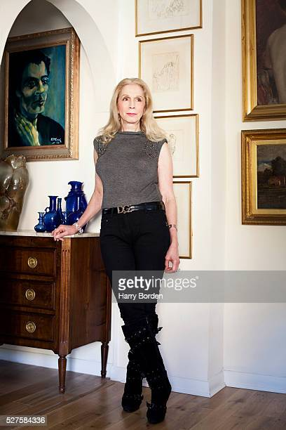 Writer Lady Colin Campbell is photographed for the Sunday Times magazine on August 28 2012 in London England