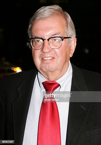 Writer Larry McMurtry arrives at the premiere of Brokeback Mountain at the Mann National Theater on November 29 2005 in Westwood California