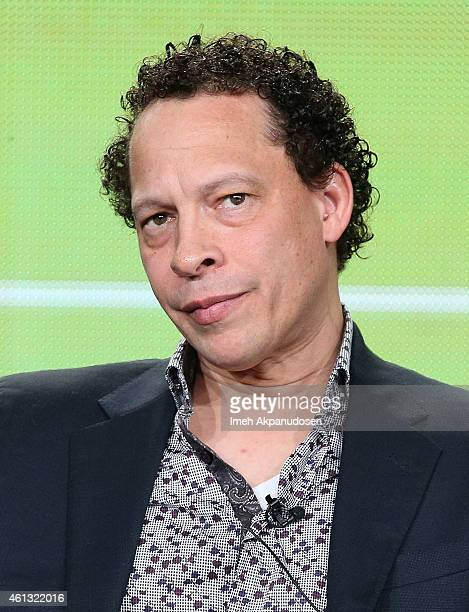 Writer Lawrence Hill speaks onstage during the Viacom Winter Television Critics Association press tour at The Langham Huntington Hotel and Spa on...