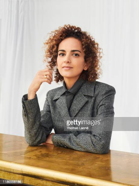 Writer Leila Slimani poses for a portrait on November 12 2019 in Paris France