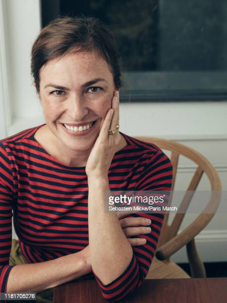 Writer Lisa BrennanJobs is photographed for Paris Match on October 22 2019 in New York United States