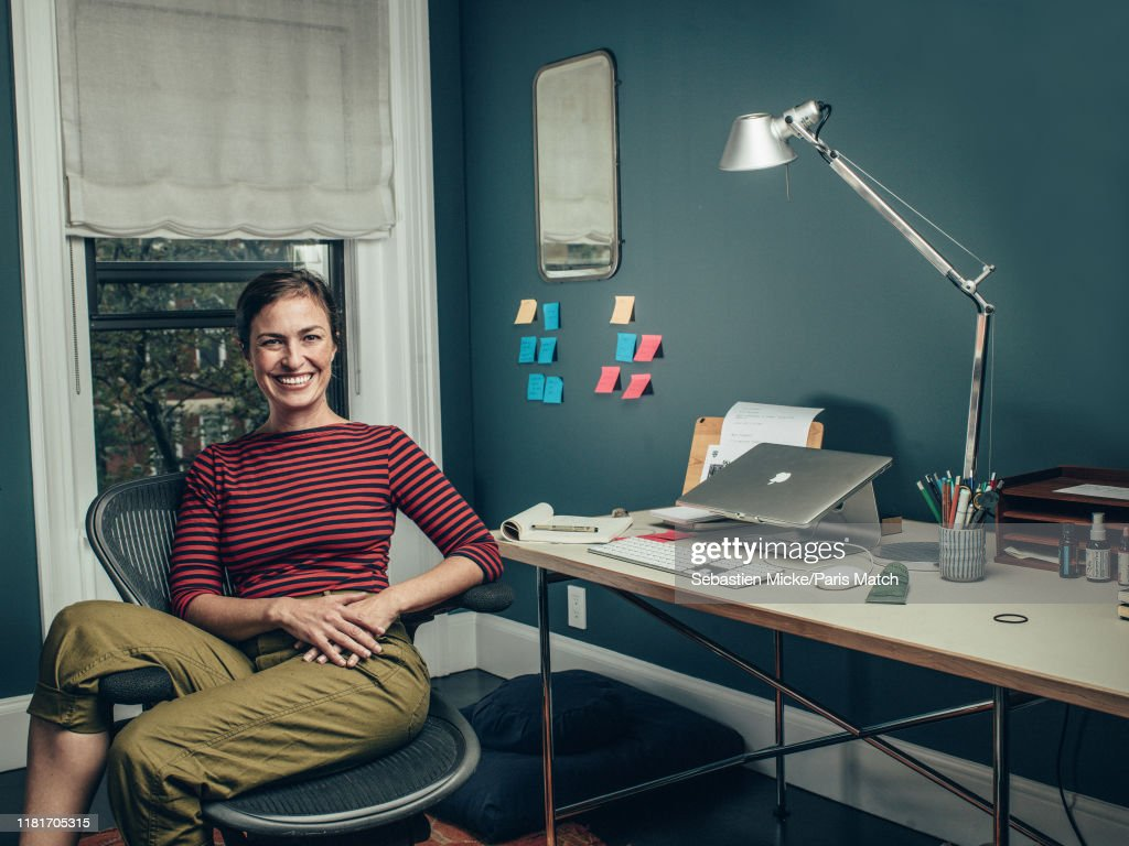 Lisa Brennan-Jobs, Paris Match Issue 3678, November 6, 2019 : News Photo