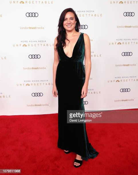 Writer Lisa Joy attends the Unforgettable Gala 2018 at The Beverly Hilton Hotel on December 08 2018 in Beverly Hills California