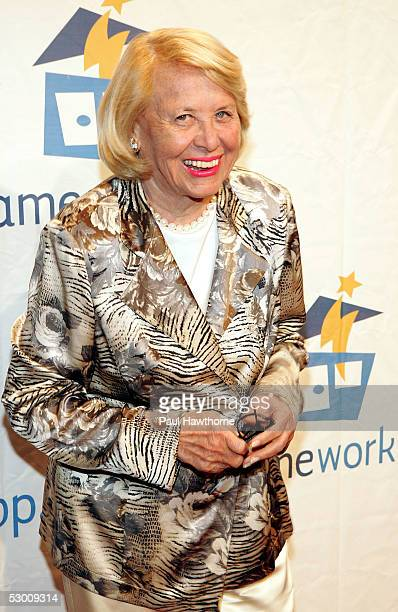 Writer Liz Smith attends the Third Annual Sesame Workshop Benefit Gala at Cipriani 42nd Street on June 1 2005 in New York City