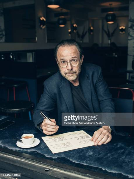 Writer Marc Levy is photographed for Paris Match on May 9 2019 in New York United States