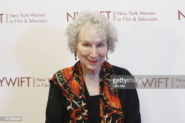 Writer Margaret Atwood attends the 2019 NYWIFT Muse Awards at the New York Hilton Midtown on December 10, 2019 in New York City.