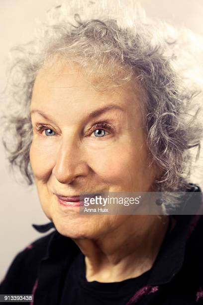 Writer Margaret Atwood is photographed for the Sunday Times magazine on October 29, 2017 in London, England.
