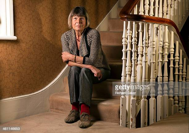 Writer Margaret Drabble is photographed for the Observer on October 15 2013 in London England