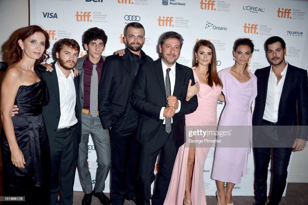 """Twice Born"" Premiere - Roy Thomson Hall - Red Carpet - 2012 Toronto International Film Festival"