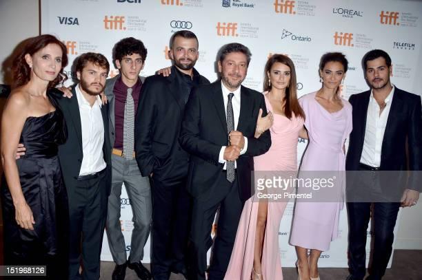 Writer Margaret Mazzantini, actors Emile Hirsch, Pietro Castellitto, Adnan Haskov, director Sergio Castellitto, actresses Penelope Cruz, Saadet Aksoy...