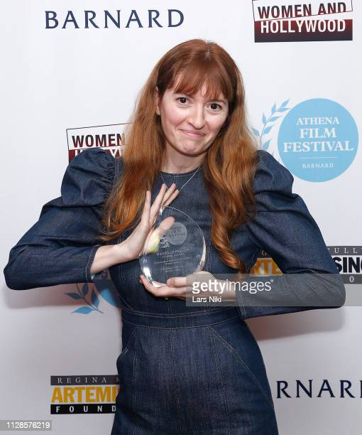 Writer Marielle Heller attends the 2019 Athena Film Festival awards ceremony at the Diana Center at Barnard College on March 1 2019 in New York City