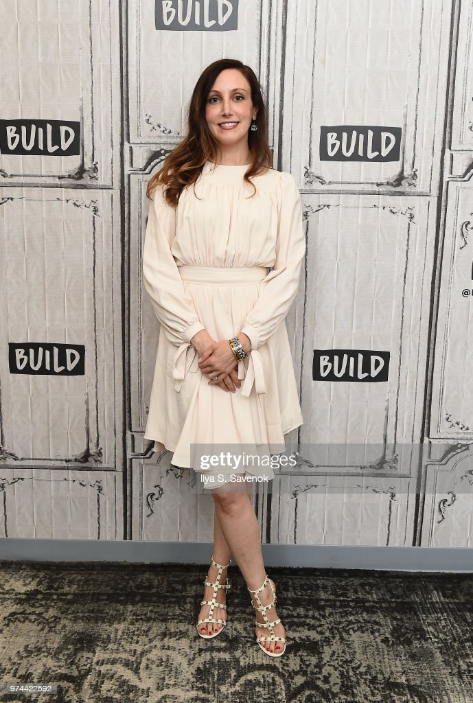 Writer Marisha Pessl visits Build Series to promote her book 'Neverworld Wake' at Build Studio on June 14, 2018 in New York City.