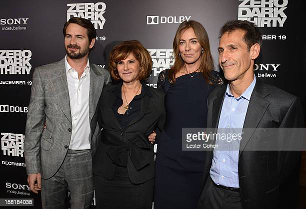 Writer Mark Boal Amy Pascal CoChairman Sony Pictures Entertainment director Kathryn Bigelow and Michael Lynton CEO Chairman Sony Pictures...