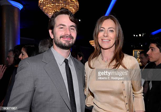 Writer Mark Boal and director Kathryn Bigelow attend the 85th Academy Awards Nominations Luncheon at The Beverly Hilton Hotel on February 4 2013 in...