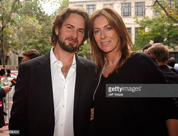 Writer Mark Boal and director Kathryn Bigelow attend The Hurt Locker film premiere held at Ryerson Theatre during the 2008 Toronto International Film...