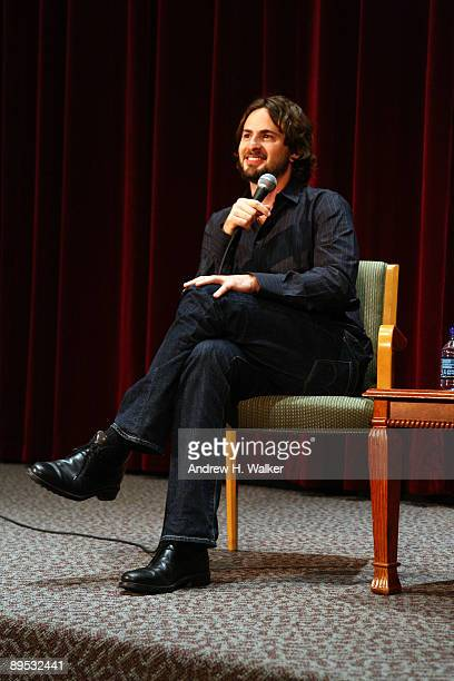 Writer Mark Boal answers questions after a screening of The Hurt Locker at The Directors Guild of America Theater July 30 2009 in New York City