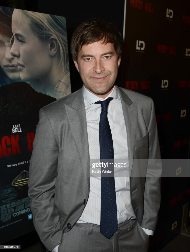 Writer Mark Duplass attends the screening of LD Entertainment's 'Black Rock' at ArcLight Hollywood on May 8, 2013 in Hollywood, California.