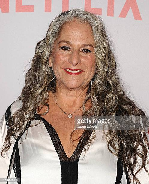 Writer Marta Kauffman attends Netflix's Grace Frankie QA screening event at Pacific Design Center on May 26 2015 in West Hollywood California