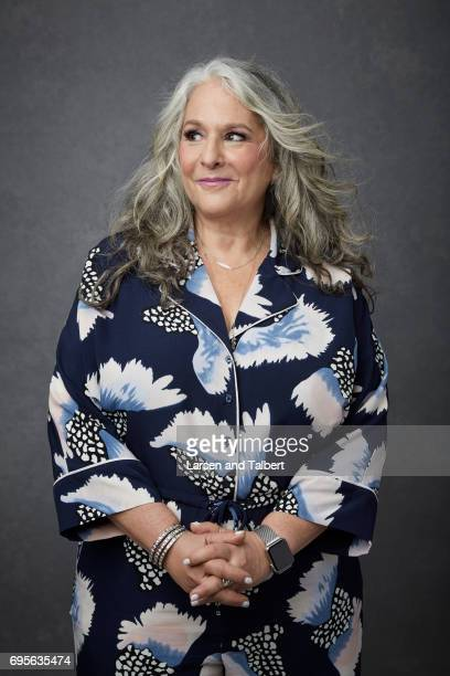 Writer Marta Kauffman is photographed for Entertainment Weekly Magazine on June 9 2017 in Austin Texas