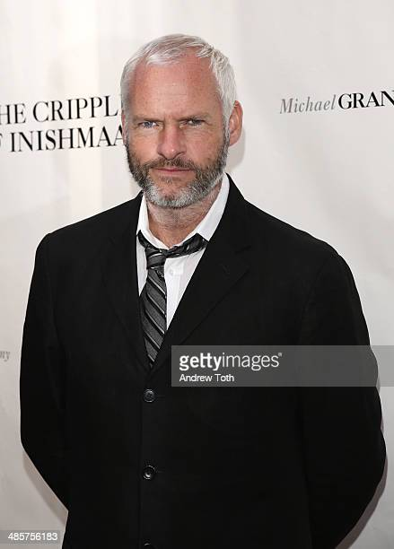 Writer Martin McDonagh attends the Broadway opening night of 'The Cripple Of Inishmaan' at the Cort Theatre on April 20 2014 in New York City