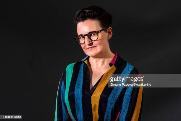 Writer Mary Paulson-Ellis attends a photo call during Edinburgh International Book Festival 2019 on August 19, 2019 in Edinburgh, Scotland.
