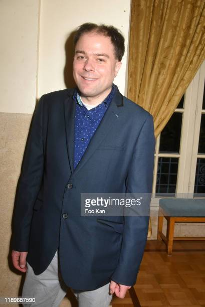 Writer Mathias Vincenot attends the Poesie En Liberté 2019 Awards Ceremony At Mairie Du 5eme on November 23 2019 in Paris France