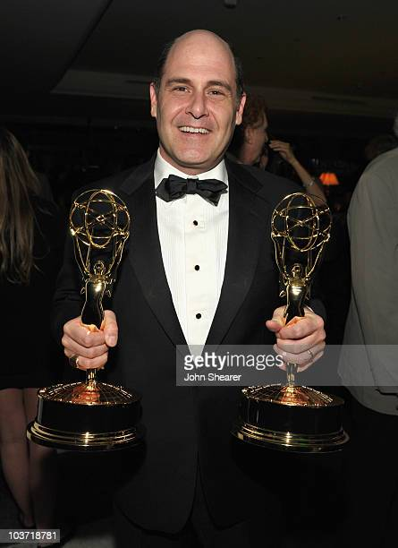 Writer Matthew Weiner attends the AMC After Party for the 62nd Annual EMMY Awards at Soho House on August 29, 2010 in West Hollywood, California.