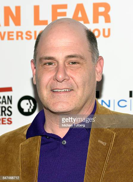 """Writer Matthew Weiner attends the premiere of Music Box Films' """"Norman Lear: Just Another Version Of You"""" at The WGA Theater on July 14, 2016 in..."""