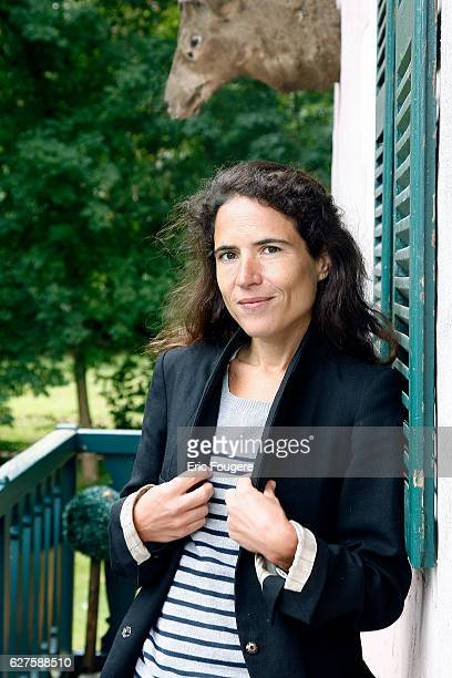 Writer Mazarine Pingeot Photographed in PARIS