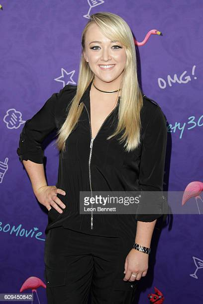 Writer Meghan McCarthy attends Premiere Of Lionsgate's 'Dirty 30' Arrivals at ArcLight Hollywood on September 20 2016 in Hollywood California