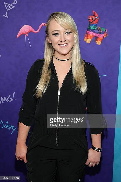 Writer Meghan McCarthy attends the premiere of Lionsgate's 'Dirty 30' at ArcLight Hollywood on September 20 2016 in Hollywood California